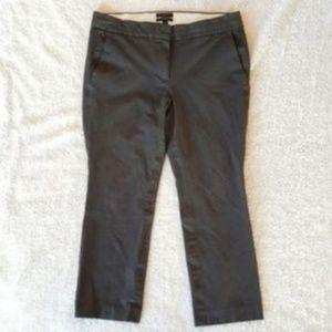 J. Crew Campbell Grey Crop Pants